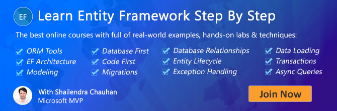 Tips to improve Entity Framework Performance